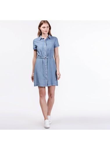 Jean Gömlek Elbise-Lacoste